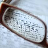 occhiale giornale