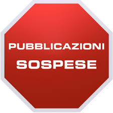 pubblicazioni sospese