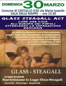 incontro glass steagall