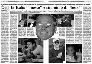 In italia onesto sinonimo di fesso for Intervista sinonimo