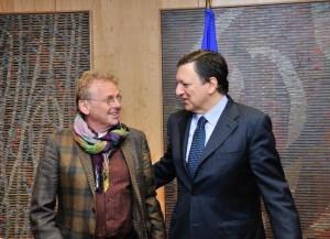 Cohn Bendit e Barroso