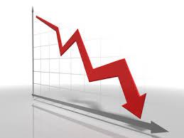 grafico caduta