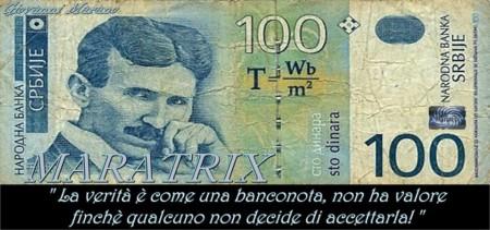 banconota tesla