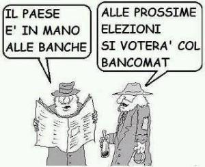 vignetta banca