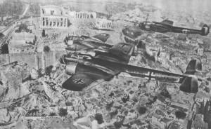 bombardamento grecia