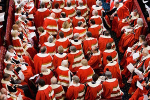 Lords At State Opening of Parliament, UK