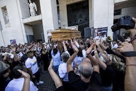 casamonica funerale 2