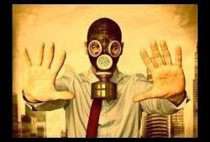 Mascherina MCS inquinamento