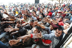 immigrati foto uno