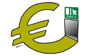 uscire euro