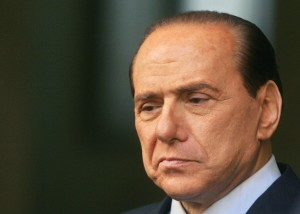 TO GO WITH AFP STORY BY ELLA IDE (FILES) This picture taken on January 25, 2006 shows Silvio Berlusconi then Italian Prime Minister Silvio Berlusconi before a meeting at the Palazzo Chigi in Rome. Italy's Supreme Court meets on July 30, 2013 to examine a fraud trial against Silvio Berlusconi which could see him ousted from politics and risks upsetting the country's fragile coalition government. AFP PHOTO / GIULIO NAPOLITANO